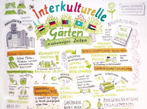 Interkulturelle Gärten in schwierigen Zeiten